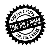 Time for a break stamp Stock Image