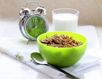 Time for breakfast Muesli Stock Photography