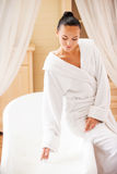 Time for bubble bath. Royalty Free Stock Photos