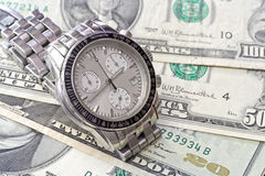 Time and business. All over the world Royalty Free Stock Photo