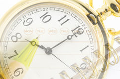 Time business management concept. Royalty Free Stock Photography