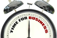 Time for business Royalty Free Stock Photography