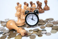 Time of the business plan. The clock is ticking, time is no longer waiting. Teamwork Stock Photography