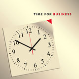 Time for business Stock Image
