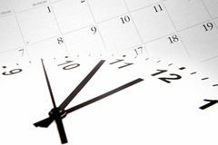 Time and calendar Royalty Free Stock Images