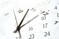 Time and calendars Royalty Free Stock Photography