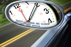 Time is catching up royalty free stock photography