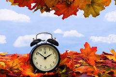 Time change Royalty Free Stock Photos