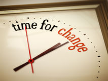 Time for change Stock Photo