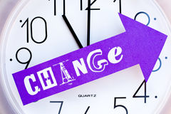 Time for Change Stock Images