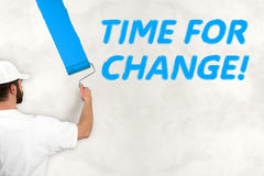 Time for change concept Stock Photo