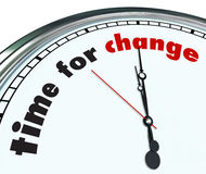 Time for Change - Ornate Clock Royalty Free Stock Photos