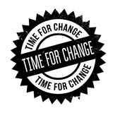 Time for change stamp Royalty Free Stock Photography