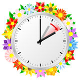 Time change to daylight saving time Stock Photography