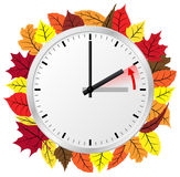 Time change to standard time Royalty Free Stock Image