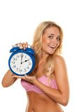 Time change, Uhrumstellung winter Sommerze Stock Photo