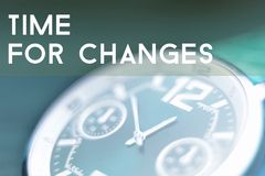 Time for changes Royalty Free Stock Photography