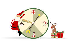 Time for Christmas vector illustration