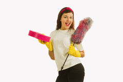 Time for cleanup Stock Images