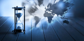 Time Climate Change Global Pandemic Background Royalty Free Stock Image