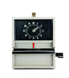 Time clock Royalty Free Stock Image