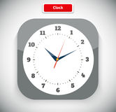 Time and Clock App Icon Royalty Free Stock Photography