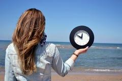 Time clock Stock Photos