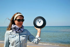 Time clock Royalty Free Stock Photos
