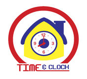 Time clock Stock Photography