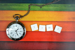 Time clock Stock Image