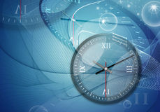 Time a clock Royalty Free Stock Photo