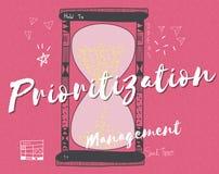 Time Clock Hour Minute Alarm Concept.  stock illustration