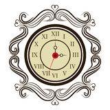 Time and clock icon Royalty Free Stock Photos