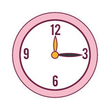Time clock  icon Royalty Free Stock Image