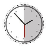 Time clock  icon Royalty Free Stock Images