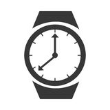 Time and clock isolated icon. Stock Photo