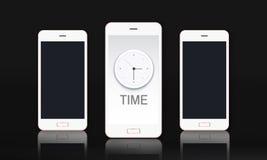 Time Clock Management Concept royalty free illustration