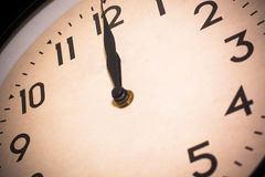 A Time clock moment Royalty Free Stock Image