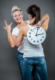 Time and clock Royalty Free Stock Photography