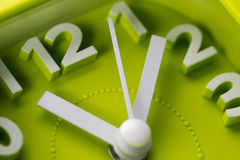 Time clock - Stock Image Royalty Free Stock Photography