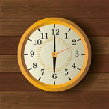 Time clock vintage design Royalty Free Stock Images