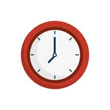 Time clock watch icon. Vector illustration design Royalty Free Stock Photography