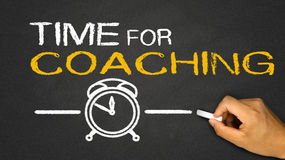 time for coaching royalty free illustration