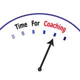 Time for coaching Royalty Free Stock Photo