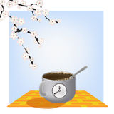 Time of coffe Royalty Free Stock Photo