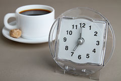 Time of coffee Royalty Free Stock Image