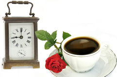 Time of coffee. Stock Photo
