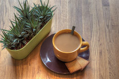 Time for a coffee? Royalty Free Stock Images