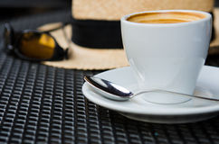 The time of coffee Stock Photography