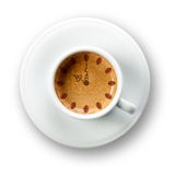 It is always time for a coffee Royalty Free Stock Photos